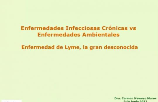 Encuentros con: Dra Carmen Navarro: Infecciones crónicas